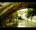 Прага. Самый типичный вид на Карлов мост.